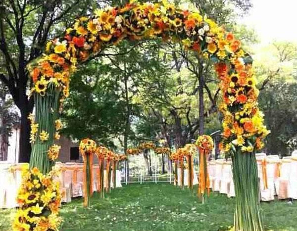 森系风主题婚礼